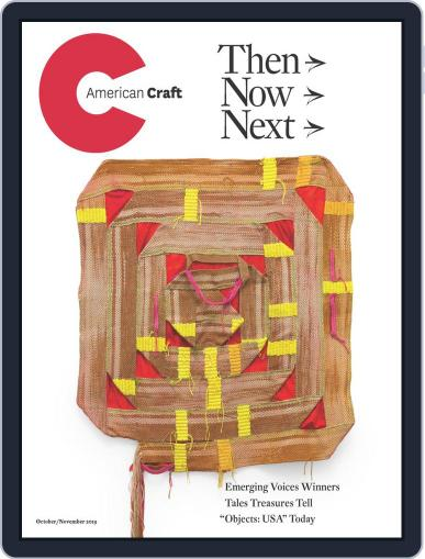 American Craft (Digital) October 1st, 2019 Issue Cover