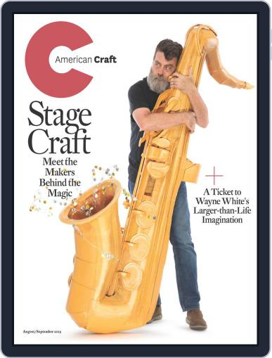 American Craft (Digital) August 1st, 2019 Issue Cover