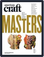 American Craft (Digital) Subscription October 1st, 2014 Issue