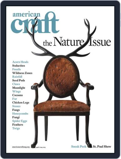 American Craft (Digital) March 18th, 2013 Issue Cover
