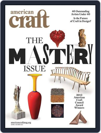 American Craft (Digital) September 17th, 2012 Issue Cover
