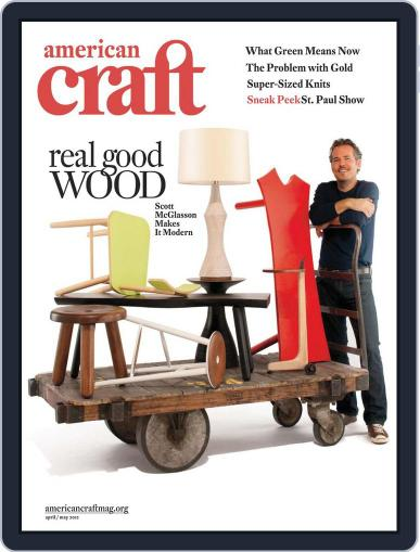 American Craft (Digital) March 21st, 2012 Issue Cover