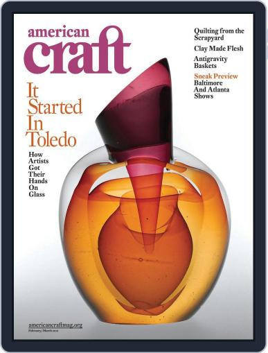 American Craft (Digital) January 23rd, 2012 Issue Cover
