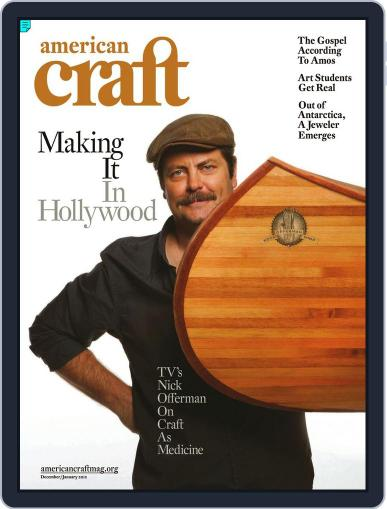 American Craft (Digital) November 21st, 2011 Issue Cover