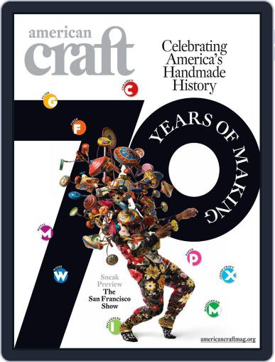 American Craft (Digital) July 29th, 2011 Issue Cover