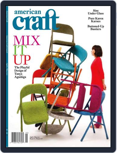 American Craft (Digital) March 28th, 2011 Issue Cover