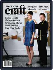 American Craft (Digital) Subscription July 14th, 2010 Issue