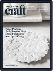 American Craft (Digital) Subscription September 30th, 2009 Issue