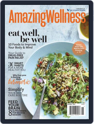 Amazing Wellness (Digital) March 1st, 2019 Issue Cover