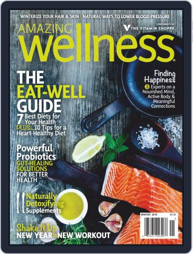 Amazing Wellness (Digital) January 1st, 2019 Issue Cover