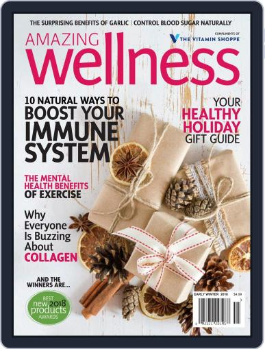 Amazing Wellness (Digital) November 1st, 2018 Issue Cover