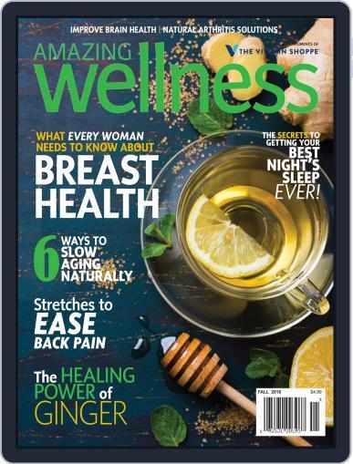 Amazing Wellness (Digital) September 1st, 2018 Issue Cover