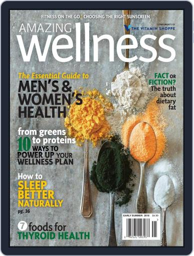 Amazing Wellness (Digital) May 1st, 2018 Issue Cover