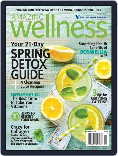 Amazing Wellness (Digital) March 1st, 2018 Issue Cover