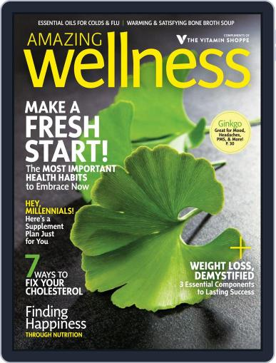 Amazing Wellness (Digital) January 1st, 2018 Issue Cover