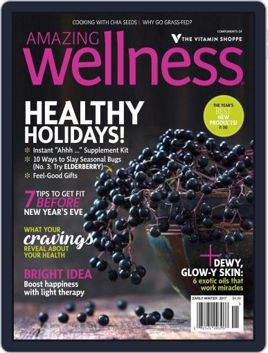 Amazing Wellness (Digital) November 1st, 2017 Issue Cover