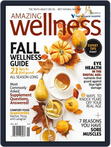 Amazing Wellness (Digital) September 1st, 2017 Issue Cover