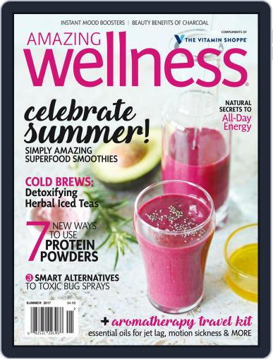 Amazing Wellness (Digital) July 1st, 2017 Issue Cover