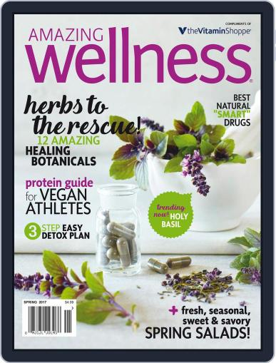 Amazing Wellness (Digital) March 1st, 2017 Issue Cover