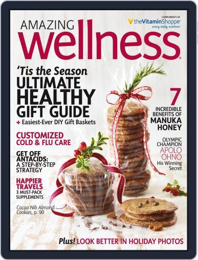 Amazing Wellness (Digital) November 1st, 2016 Issue Cover