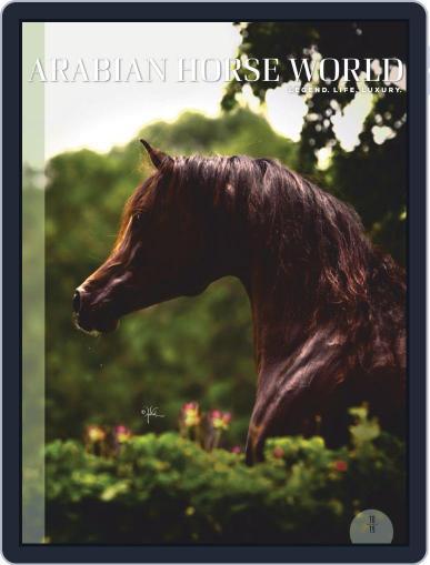 Arabian Horse World (Digital) October 1st, 2019 Issue Cover