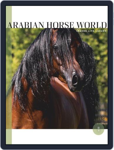 Arabian Horse World (Digital) March 1st, 2019 Issue Cover