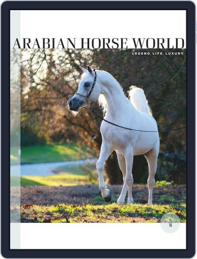 Arabian Horse World (Digital) November 1st, 2018 Issue Cover