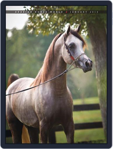 Arabian Horse World (Digital) February 5th, 2013 Issue Cover