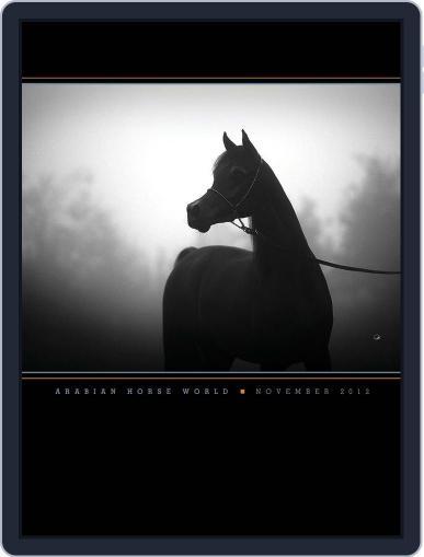 Arabian Horse World (Digital) November 20th, 2012 Issue Cover