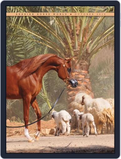 Arabian Horse World (Digital) October 17th, 2012 Issue Cover