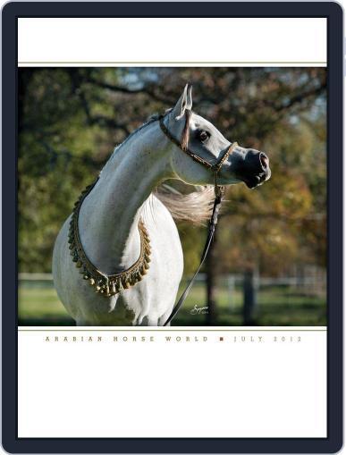 Arabian Horse World (Digital) July 19th, 2012 Issue Cover