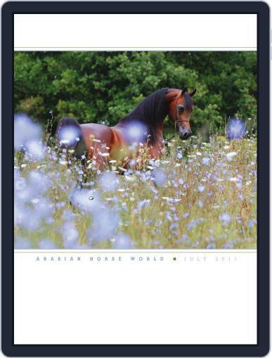Arabian Horse World (Digital) July 15th, 2011 Issue Cover