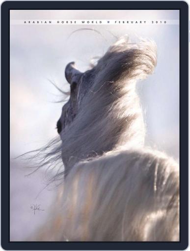 Arabian Horse World (Digital) February 9th, 2010 Issue Cover