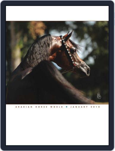 Arabian Horse World (Digital) January 8th, 2010 Issue Cover