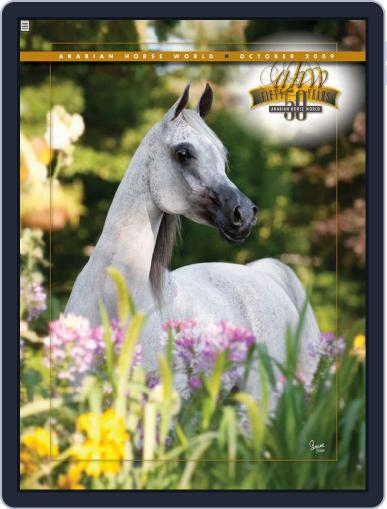 Arabian Horse World (Digital) October 8th, 2009 Issue Cover