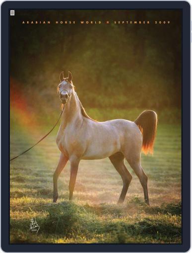 Arabian Horse World (Digital) September 4th, 2009 Issue Cover