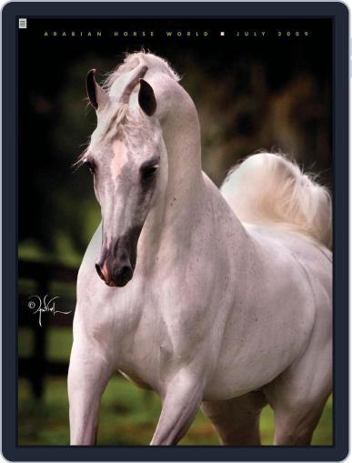 Arabian Horse World (Digital) July 9th, 2009 Issue Cover