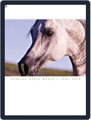 Arabian Horse World (Digital) June 5th, 2009 Issue Cover