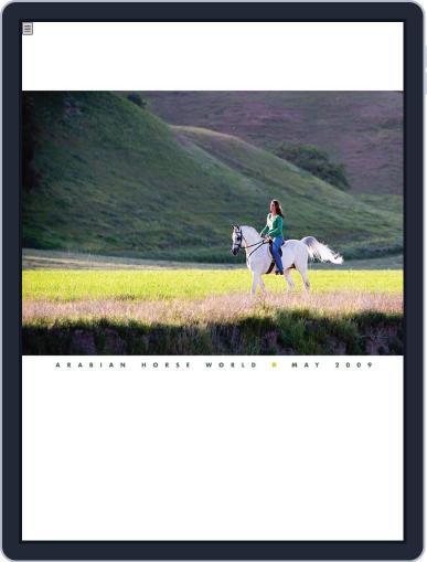Arabian Horse World (Digital) May 6th, 2009 Issue Cover