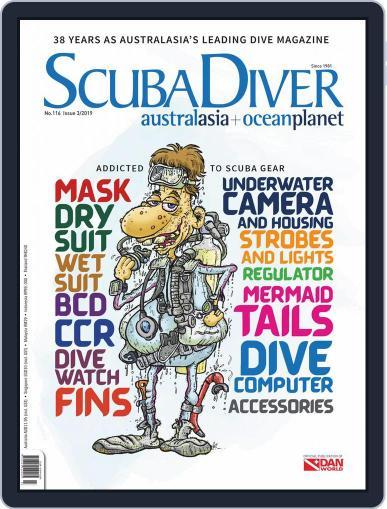 Scuba Diver October 1st, 2019 Digital Back Issue Cover