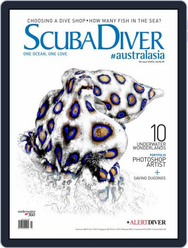 Scuba Diver August 1st, 2016 Digital Back Issue Cover