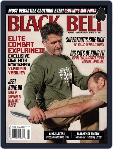 Black Belt (Digital) April 1st, 2020 Issue Cover