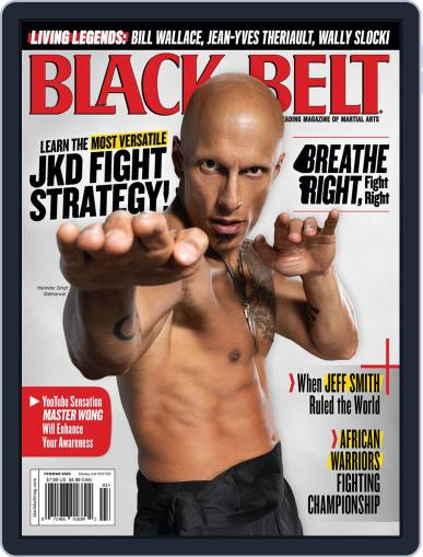 Black Belt (Digital) February 1st, 2020 Issue Cover