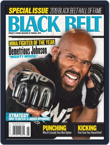 Black Belt (Digital) December 1st, 2019 Issue Cover
