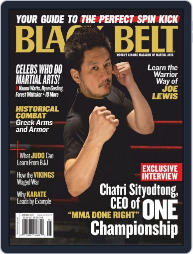 Black Belt (Digital) April 1st, 2019 Issue Cover
