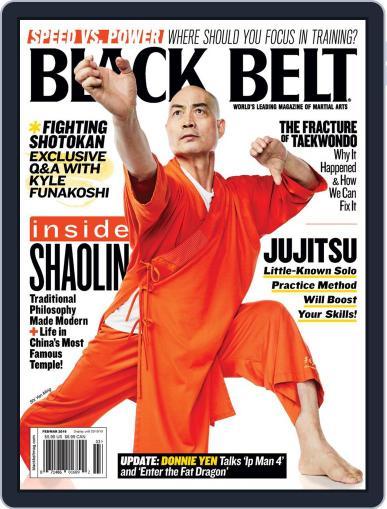 Black Belt (Digital) February 1st, 2019 Issue Cover