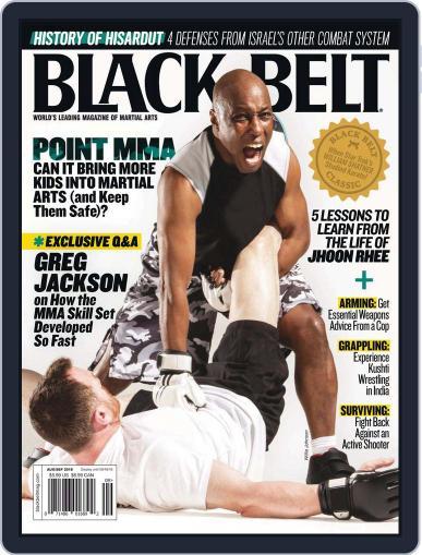 Black Belt (Digital) August 1st, 2018 Issue Cover