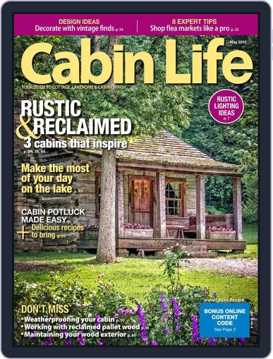 Cabin Life (Digital) May 1st, 2015 Issue Cover