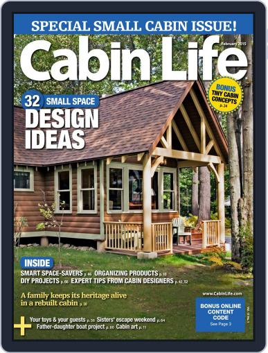 Cabin Life (Digital) December 19th, 2014 Issue Cover