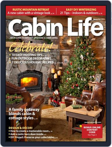 Cabin Life (Digital) October 2nd, 2014 Issue Cover